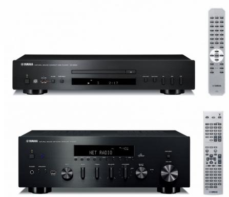 Yamaha CD-S300 + Yamaha R-N500