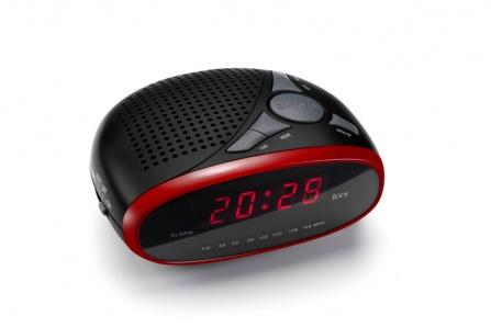 Radio-budík Ices ICR-200 červená
