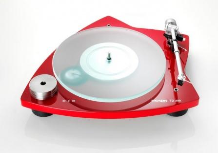 Thorens TD 309 Tri-Balance - Red