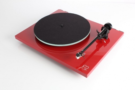 Rega Planar 2 High Gloss Red