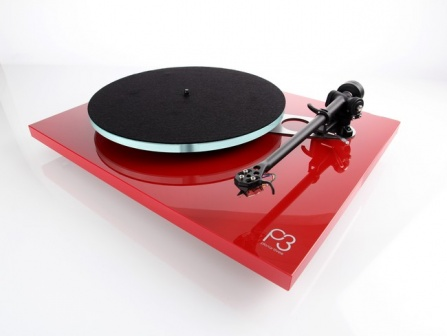 Rega Planar 3 High Gloss Red