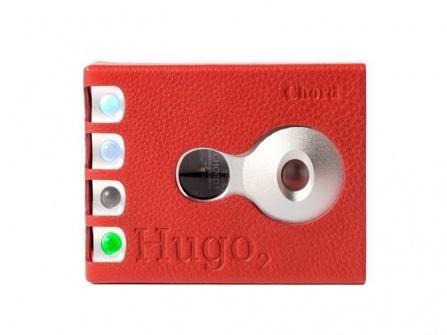 Kožené pouzdro pro HUGO 2 Red