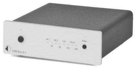 USB převodník Project Box S+ stříbrný