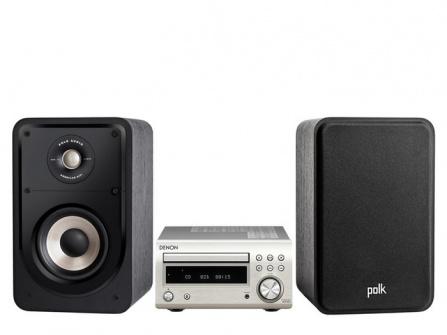 Denon RCD-M41 + Polk Audio S15e Silver