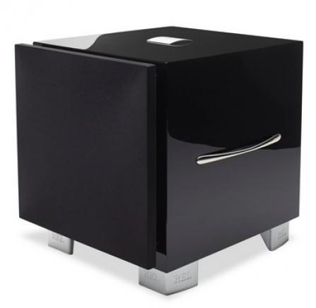 REL Acoustics S/3 - černá