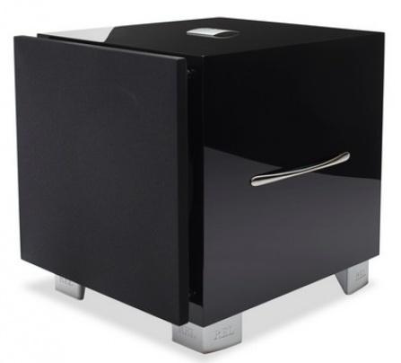 REL Acoustics S/5 - černá