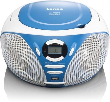 Přehrávač CD/MP3 Lenco SCD-39 USB modrá