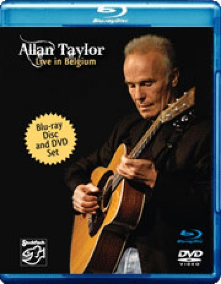Allan Taylor - Live in Belgium - 2disc set: Blu-ray Disc + DVD-9