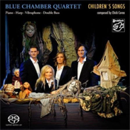 Blue Chamber Quartet - Children´s Songs Composed...  - SACD/CD (5.1 + Stereo)