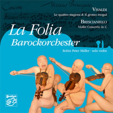 La Folia Barockorchester - Violin Concertos - SACD/CD (4.0 + Stereo)