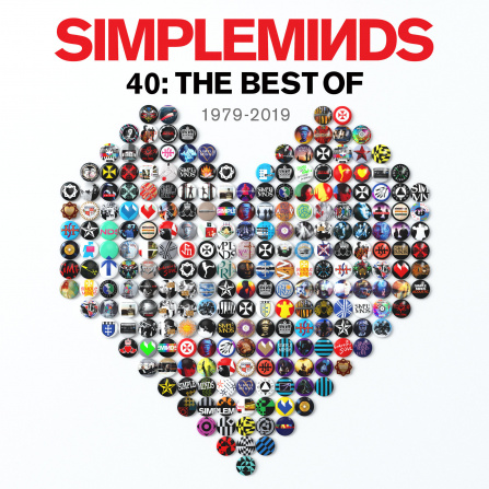 Simple Minds - 40: Best Of 2LP