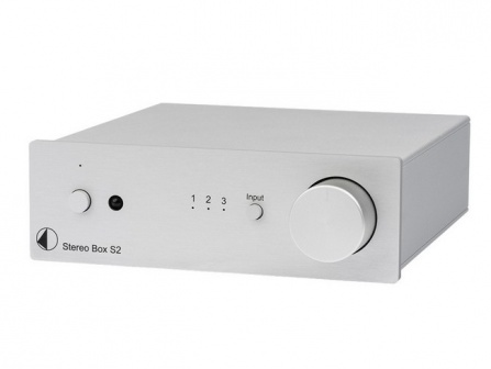 Pro-Ject Stereo Box S2 - Silver