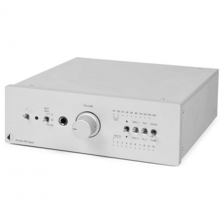 Pro-Ject Pre Box RS Digital - Silver