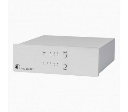 Pro-Ject DAC Box S2+ Silver