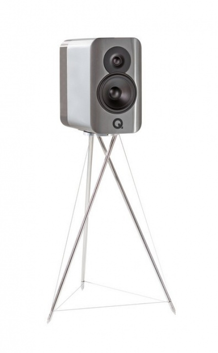 Q Acoustics Concept 300 Silver a Ebony