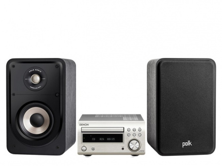 Denon RCD-M41DAB + Polk Audio S15e Silver