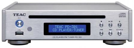 TEAC PD-301DAB-X Silver