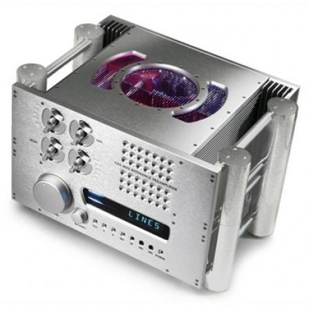 Chord Electronics CPA 8000 Reference - stříbrná