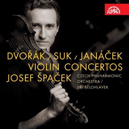 Josef Špaček - Dvořák/Suk/Janáček - Houslové koncerty CD