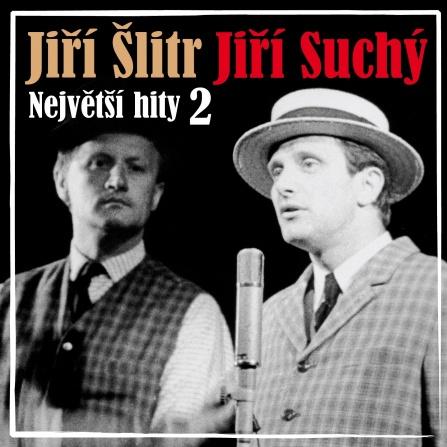 Jiří Suchý a Jiří Šlitr -  Největší hity 2 CD