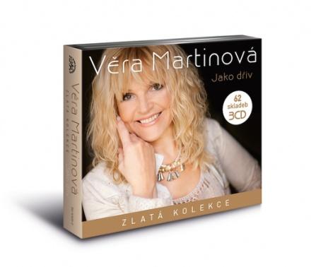 Věra Martinová - Jako dřív (Zlatá kolekce) 3CD