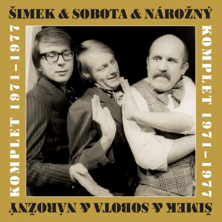 Šimek a Sobota a Nárožný - Komplet 1971-1977 CD (10)