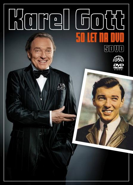 Karel Gott - 50 let na DVD