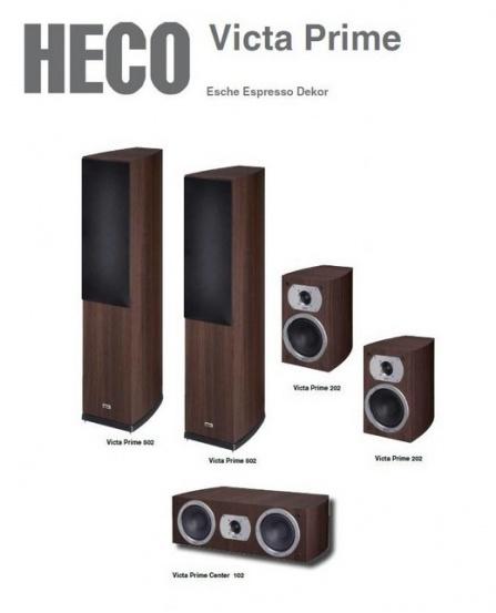 Heco Victa Prime 502 set 5.0 - Decor Espresso