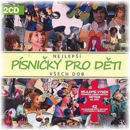 Nejlepší písničky pro děti (2CD)