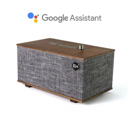 Klipsch The Three s Google Assistant Walnut
