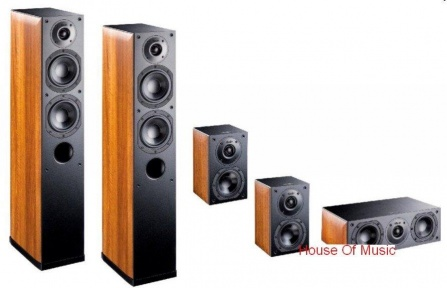 Indiana Line Nota X Home Cinema Set 5.0 - Walnut