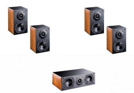 Indiana Line Nota X Home Cinema Set 5.0 Small - Walnut