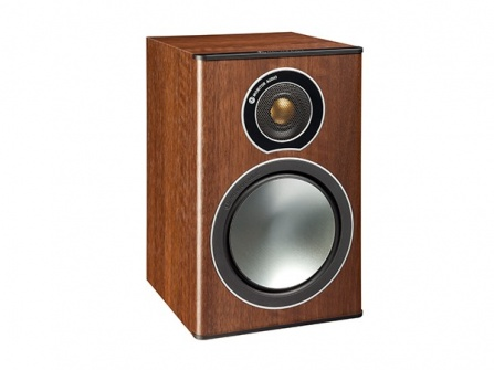 Monitor Audio Bronze 1  Walnut Pearlescent
