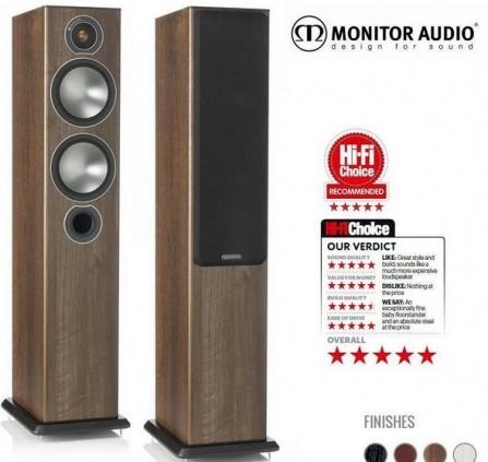 Monitor Audio Bronze 5  Walnut Pearlescent