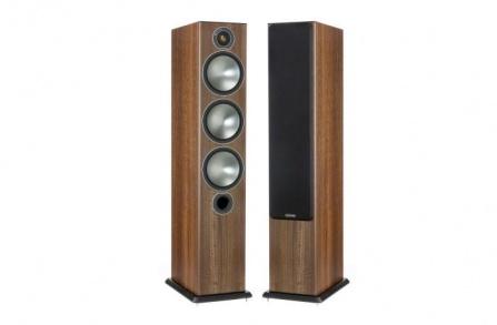 Monitor Audio Bronze 6  Walnut Pearlescent