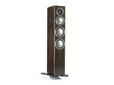 Monitor Audio Gold 200 - Dark Walnut Real Wood Veneer