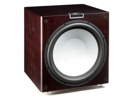 Monitor Audio Gold W15 - Dark Walnut Real Wood Veneer