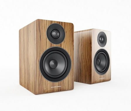 Acoustic Energy AE100 Walnut Vinyl Veneer
