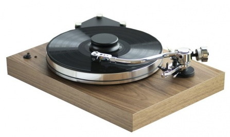 Pro-ject X-Tension 9 S-Shape Walnut + Gold Note Donatello Red