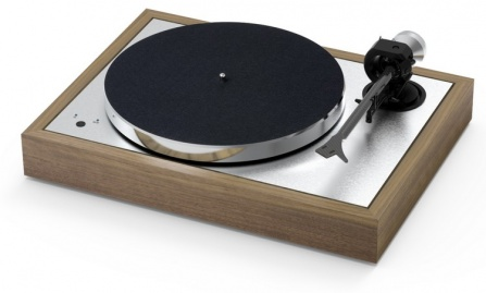 Pro-Ject The Classic Evo Walnut + Gold Note Vasari Gold