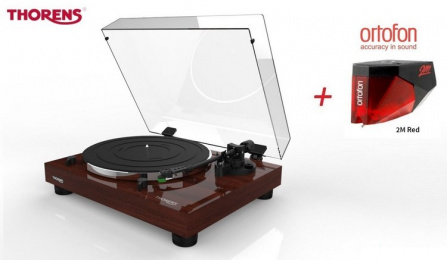 Thorens TD 202 Walnut + Ortofon 2M RED