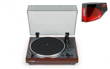THORENS TD-102A Walnut + Ortofon 2M RED