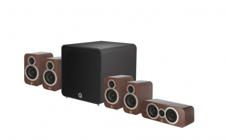 Q Acoustics 3010i PLUS 5.1 English Walnut