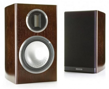 Monitor Audio Gold 50 - Dark walnut real wood veneer