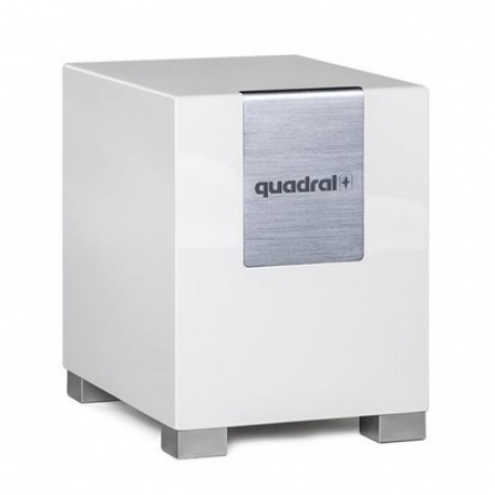 Quadral Qube 8 Aktiv White High Gloss