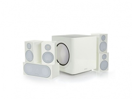 Monitor Audio Radius R90HT1 - High Gloss White Lacquer