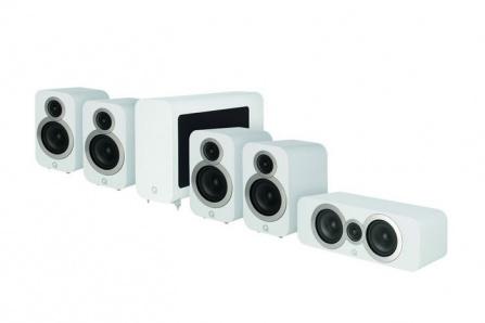 Q Acoustics 3020i 5.1 Arctic White