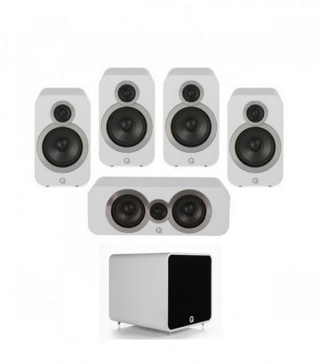 Q Acoustics 3020i PLUS 5.1 Arctic White