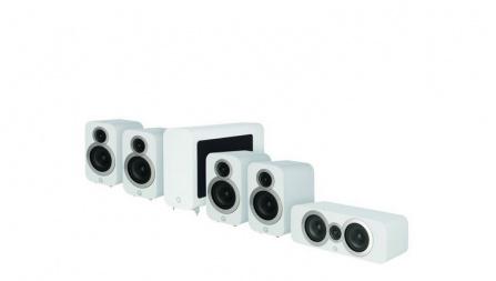 Q Acoustics 3010i 5.1 Arctic White
