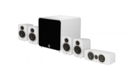 Q Acoustics 3010i PLUS 5.1 Arctic White
